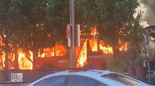 Glebe bus fire