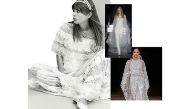 If the SS17 bridal runway is any indication, the modern bride is a rebel. Gone are the traditional codes of wedding dresses. The new rules are: no rules.