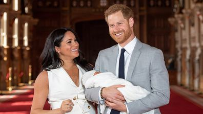 The Duke and Duchess of Sussex have introduced their son to the world.