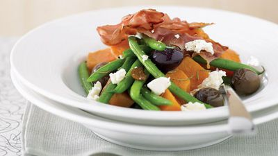 "<a href=""http://kitchen.nine.com.au/2016/05/13/11/29/sweet-potatoes-and-beans-nicoise"" target=""_top"">Sweet potato and bean nicoise</a>"