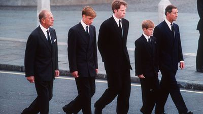 Prince Philip and family, 1997