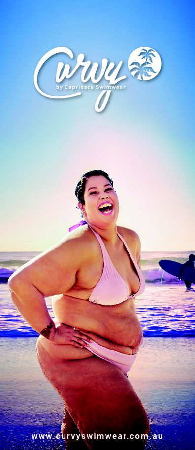 First billboard to feature a curve model lands in Australia
