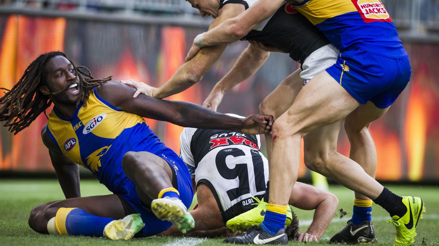St Kilda great Nick Riewoldt blasts AFL over West Coast Eagles' Nic Naitanui suspension