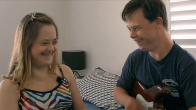 The couple appear in SBS documentary series Love Me As I Am: Untold Australia