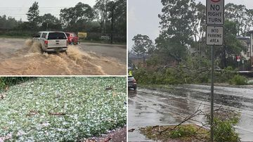 East coast smashed by thunderstorms