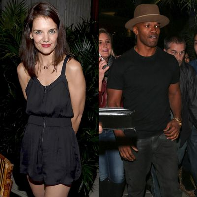 Katie Holmes and Jamie Foxx finally come out about their long-rumoured romance