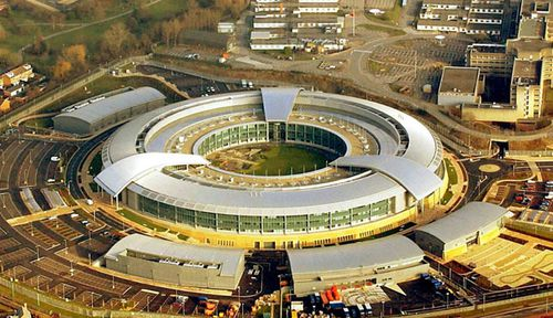 Britain's top secret GCHQ signals centre. (AP).