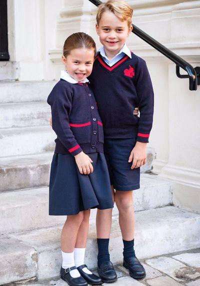 News World Royal Family: Princess Charlotte's first day at