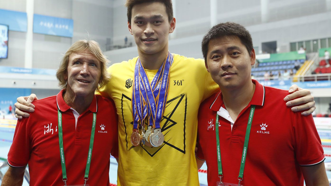 Sun Yang's Australian coach Denis Cotterell quits Chinese Swimming Association job