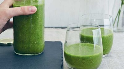 Jesinta Campbell's green goddess smoothie