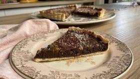Easiest chocolate ganache tart