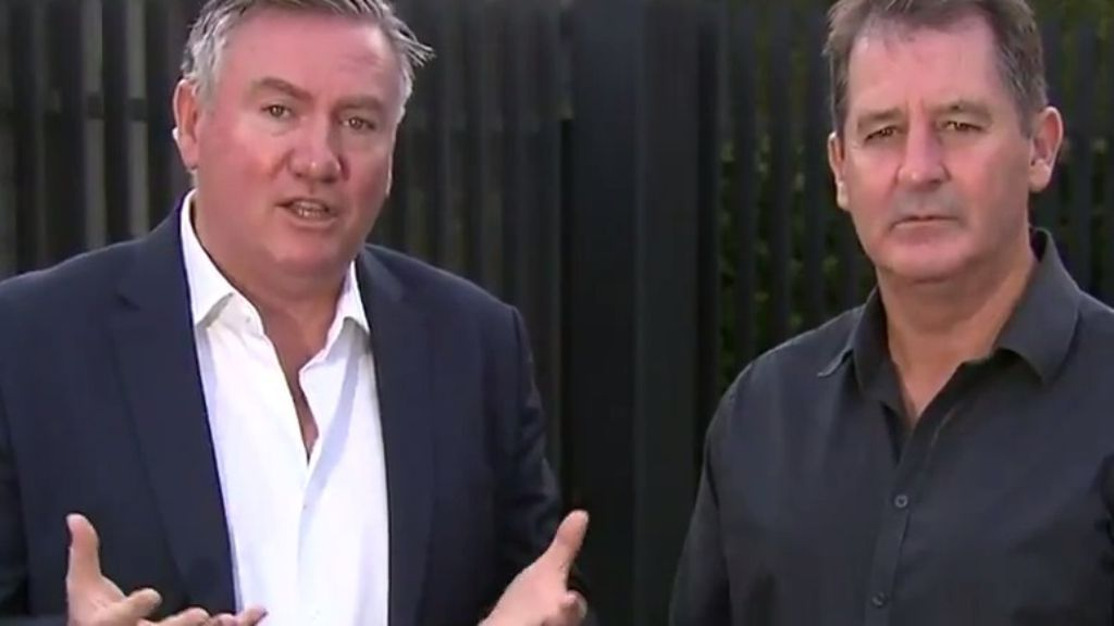 Eddie McGuire pushes return to suburban grounds after AFL shutdown