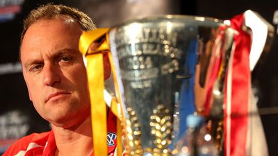 Sydney Swans coach John Longmire has his eyes on the prize. (Getty Images)