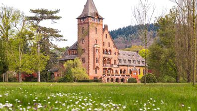 <strong>Saareck Castle, Mettlach, Germany</strong>