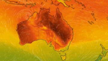 Australia is the hottest place on Earth right now with temperatures around 50C in some parts.