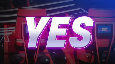 Yes image as used on The Voice 2020 website.