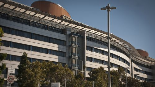 An exterior view of the PA Hospital in Brisbane