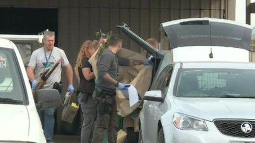 An estimated $10 million worth of GHB was seized. (9NEWS)