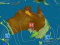 Rain, thunderstorms to hammer inland Queensland, NSW and Victoria
