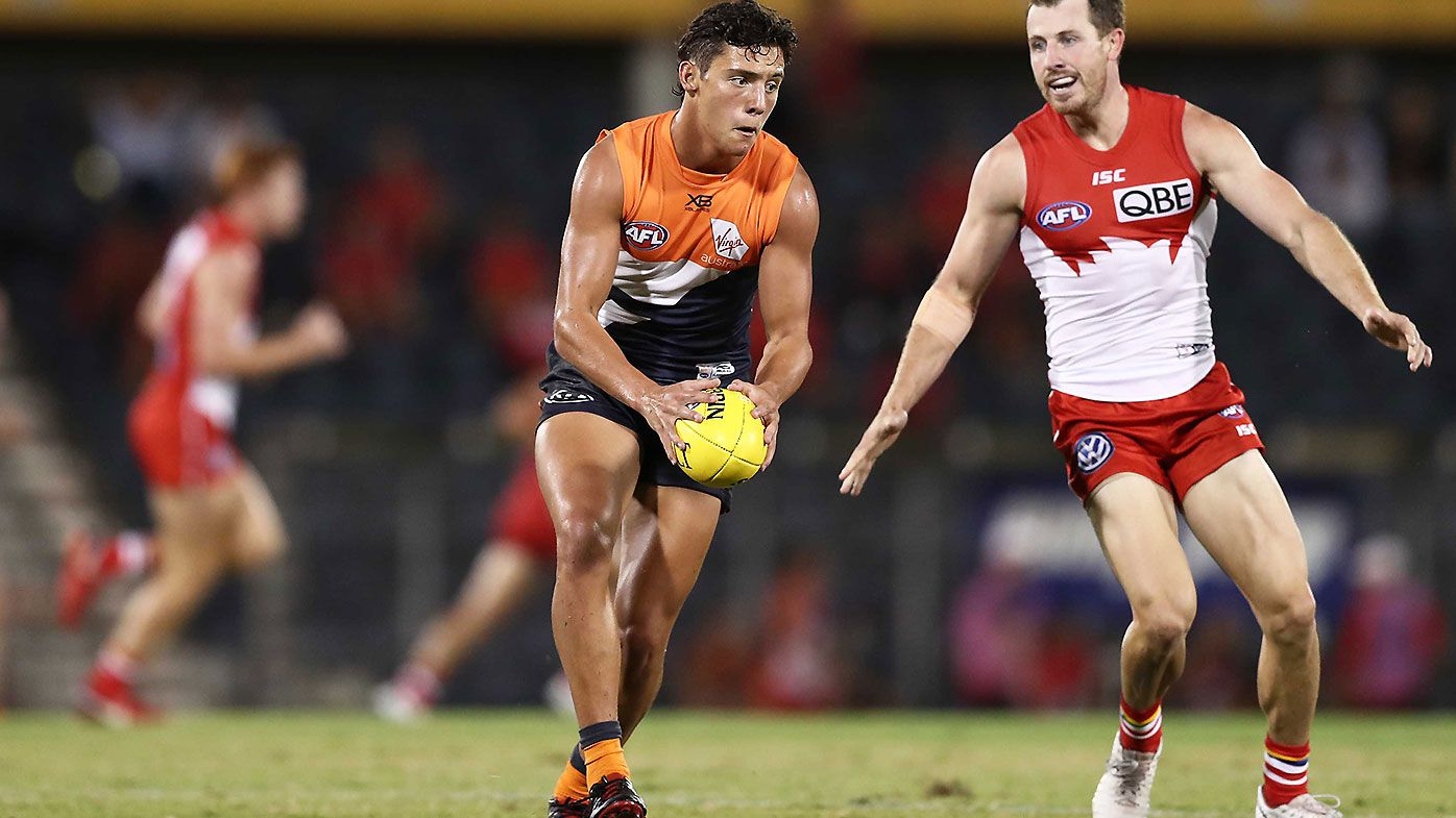GWS Giants youngster Jye Caldwell shines in JLT win over Sydney Swans
