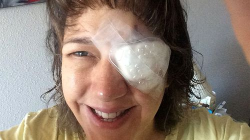 Woman loses sight in left eye after swimming in contact lenses