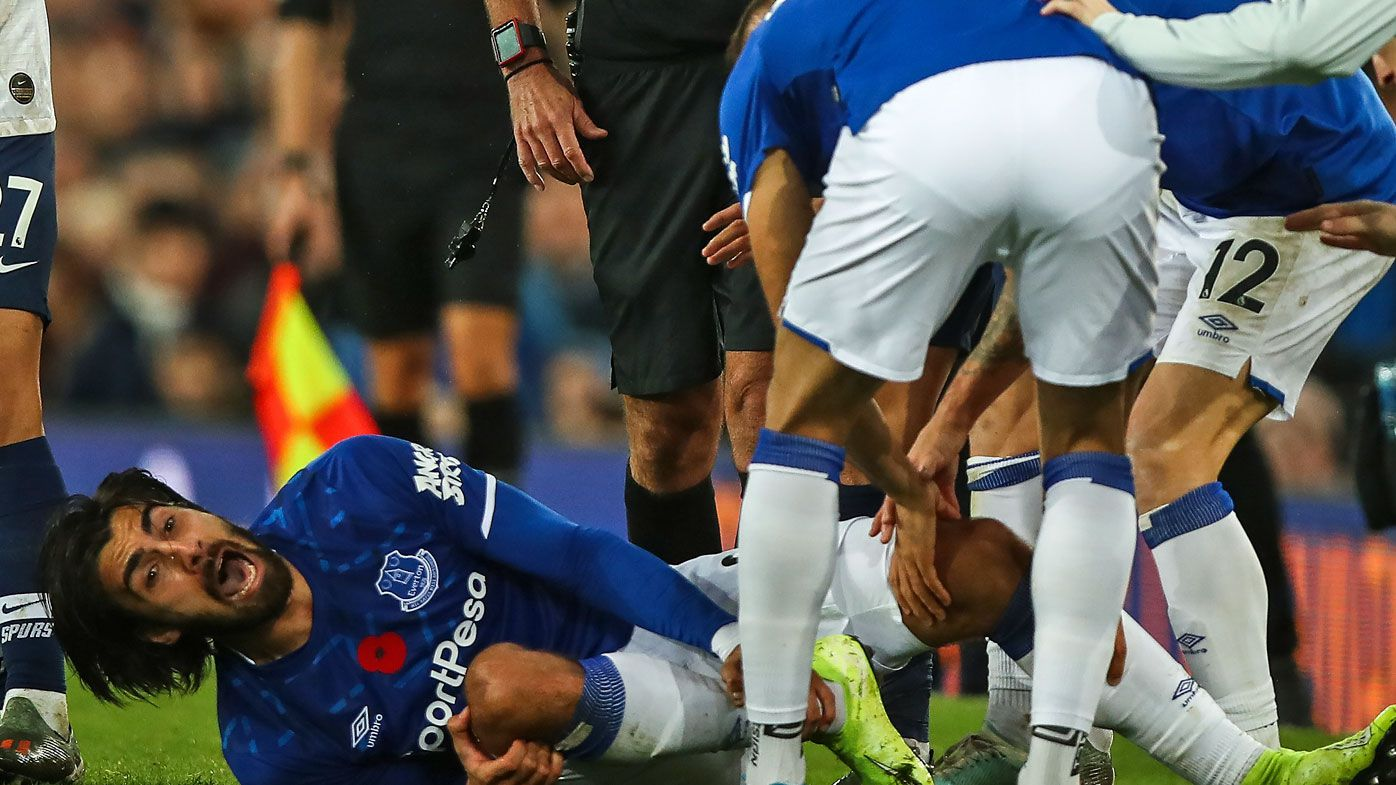 EPL club shares update after star's horrific injury