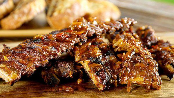 Julian Wu's Asado-style barbecued beef ribs