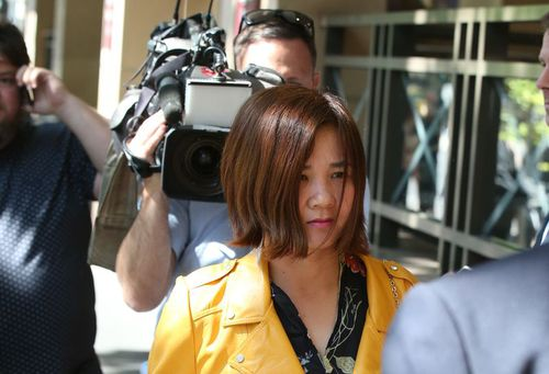 She handed herself into police four days after the accident. Picture: AAP