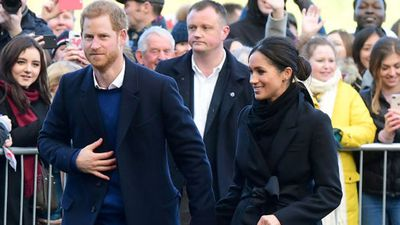 Prince Harry and Meghan Markel visit Wales in whirlwind tour