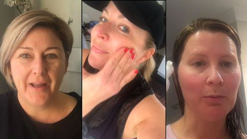 Three women tested different beauty brands.