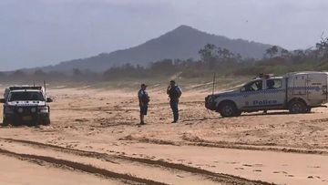 A human leg has been found on a beach on the NSW north coast.