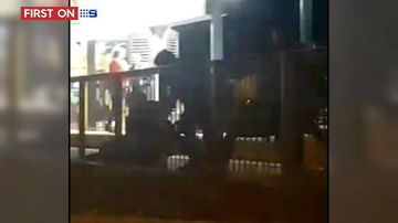 Video shows group of men attack tram passengers on Gold Coast