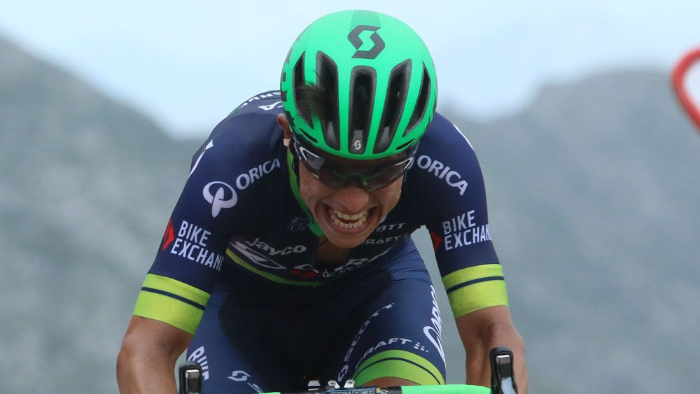 Colombian Esteban Chaves will carry lofty praise into the Tour de France. (AAP)