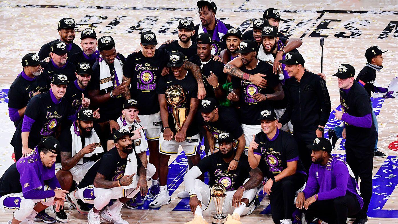 Lakers 2020 NBA champions