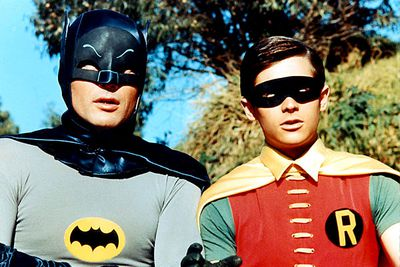 """<B>What's the story?:</B> The Boy Wonder constantly exclaimed this phrase to the Caped Crusader in the 1960s series. It's stayed popular because of its adaptability — the series had Robin cry everything from """"Holy atomic pile, Batman!"""" to """"Holy hole in the donut, Batman!"""" It was parodied in 1995's <i>Batman Forever</i>, when Robin says """"Holy sheets of metal, Batman!"""" after spotting metal sheets that have rusted through.<br/><br/><B>When to use it:</B> Whenever a campy exclamation is required.<br/><br/><B>When not to use it:</B> At any other time."""