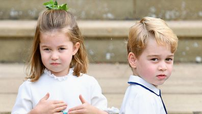 George and Charlotte to attend another wedding.