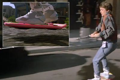 The three <i>Back To The Future</i> movies were awesome for a million time-traveller-related reasons - but none more envy-inducing than the Hoverboard! The Mattel-produced, wheel-less skateboard will exist in 2015 according to the film ... and yep, we're still hanging out for it.<br/>