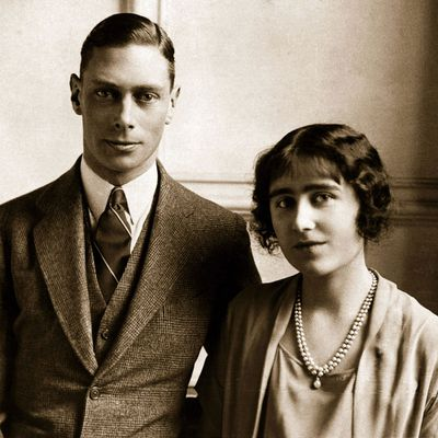 Prince Albert, Duke of York andLady Elizabeth Bowes-Lyon, 1923