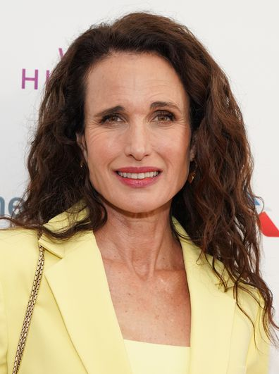 Actress Andie MacDowell, who is not Charlie McDowell's mother.