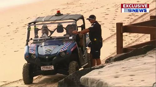 Police were called to Dicky Beach yesterday around 5.15am after an off-duty lifeguard found Ms Diessel's body.