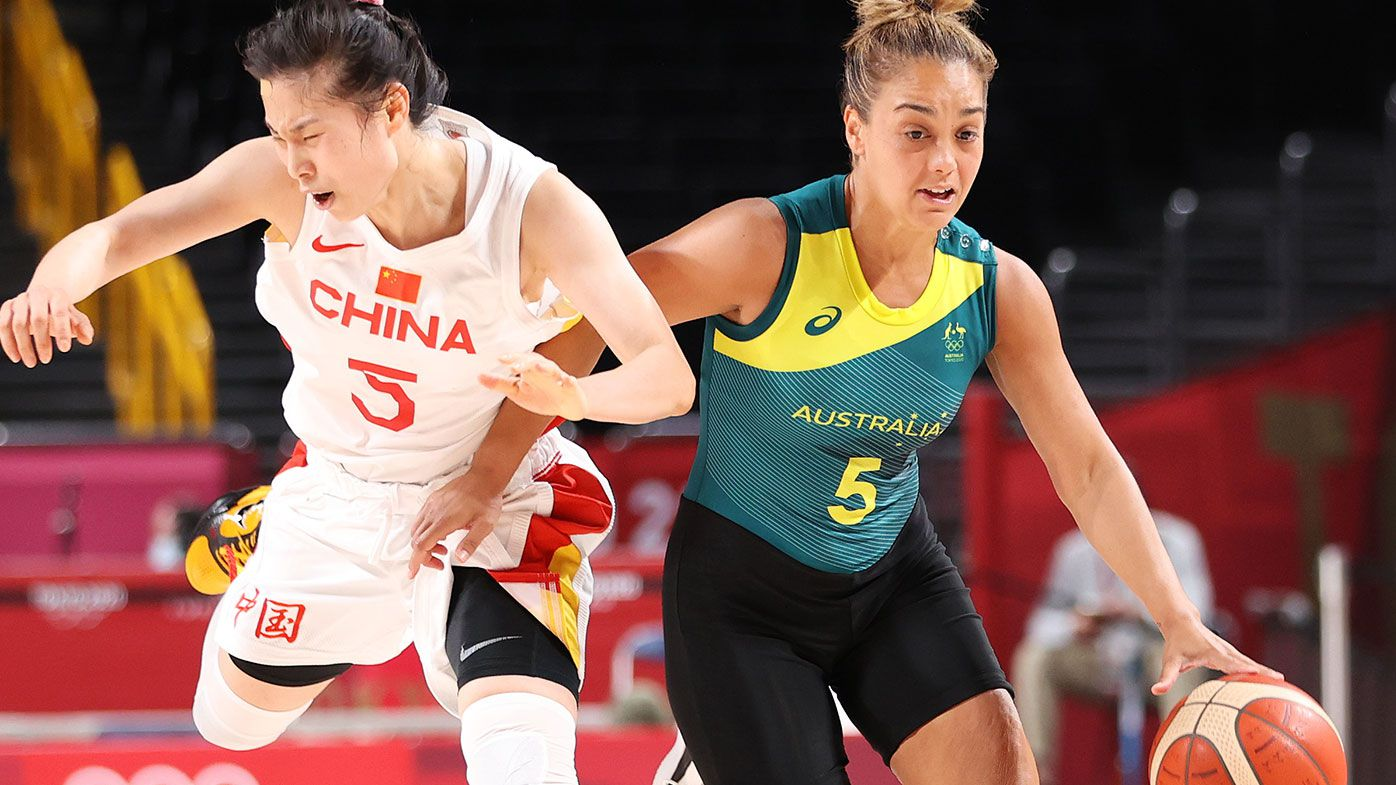 Opals in danger of missing knockout stages of Tokyo Olympics after second loss