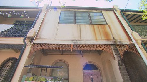 This Redfern terrace has been untouched and unloved for three decades.