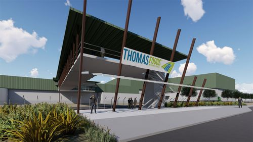 190606 SA new abattoir Thomas Foods International Murray Bridge 2000 jobs news Australia