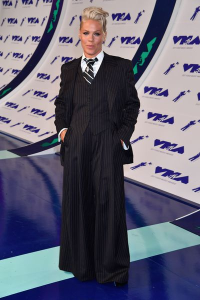 <p>WIN</p> <p>Pink at the MTV VMAs in LA on August 29.</p> <p>The boss.</p>