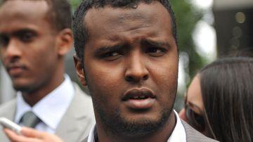 Gunman Yacqub Khayre. (AAP)