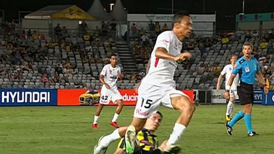 VAR drama mars Wanderers A-League revival