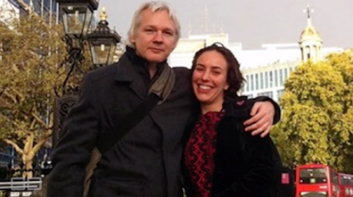 Julian Assange and Stella Moris