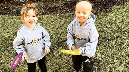 Selfless twin sister helps save brother with cancer