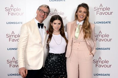 Paul Feig, Anna Kendrick and Blake Lively