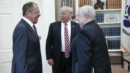 President Donald Trump shared classified information with Russian diplomats, Washington Post reports